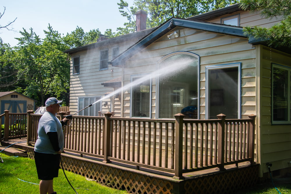 Is Pressure Washing Good for Siding